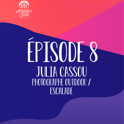 Julia Cassou - Photographe outdoor / escalade cover
