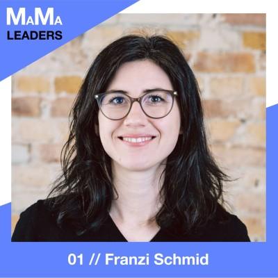 01. Franzi Schmid über Gründung in der Schwangerschaft cover