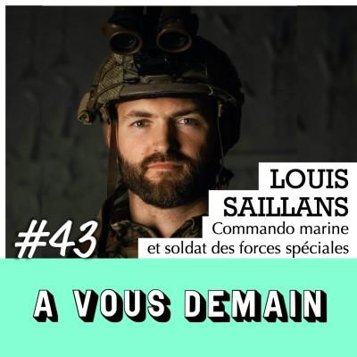 #43 l Louis Saillans : Au coeur des forces spéciales avec un commando marine cover