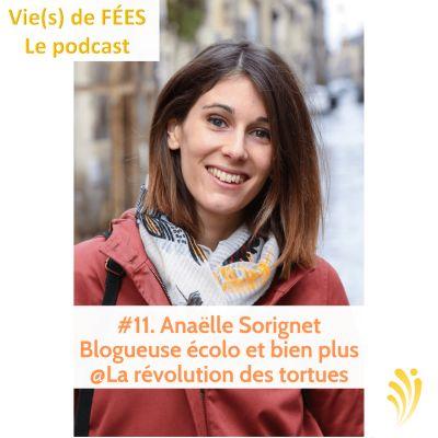 image Episode 11 - Anaëlle Sorignet - Blogueuse écolo - La Révolution des tortues