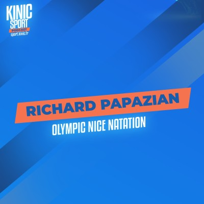 #10 - Richard Papazian : Olympic Nice Natation cover