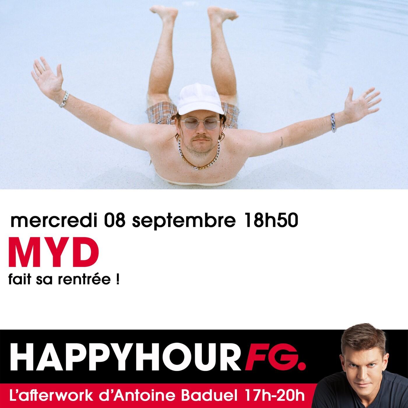 HAPPY HOUR INTERVIEW : MYD