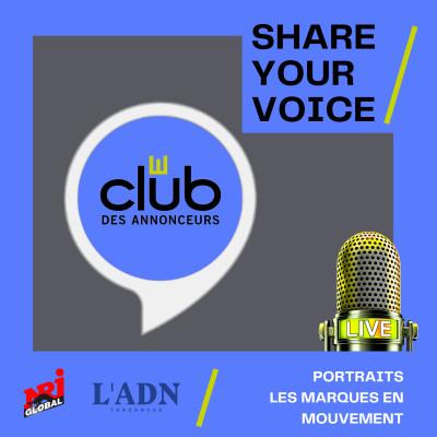 SHARE YOUR VOICE - Portraits / Les marques en mouvement cover