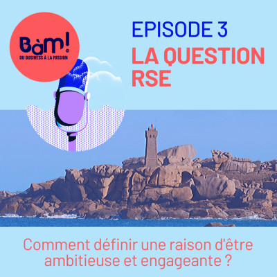 #3 La Question RSE - Comment définir une raison d'être engageante ? cover