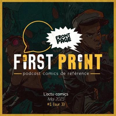 Front Page : l'actualité comics de mai 2021 #1 (sur 3) ! cover