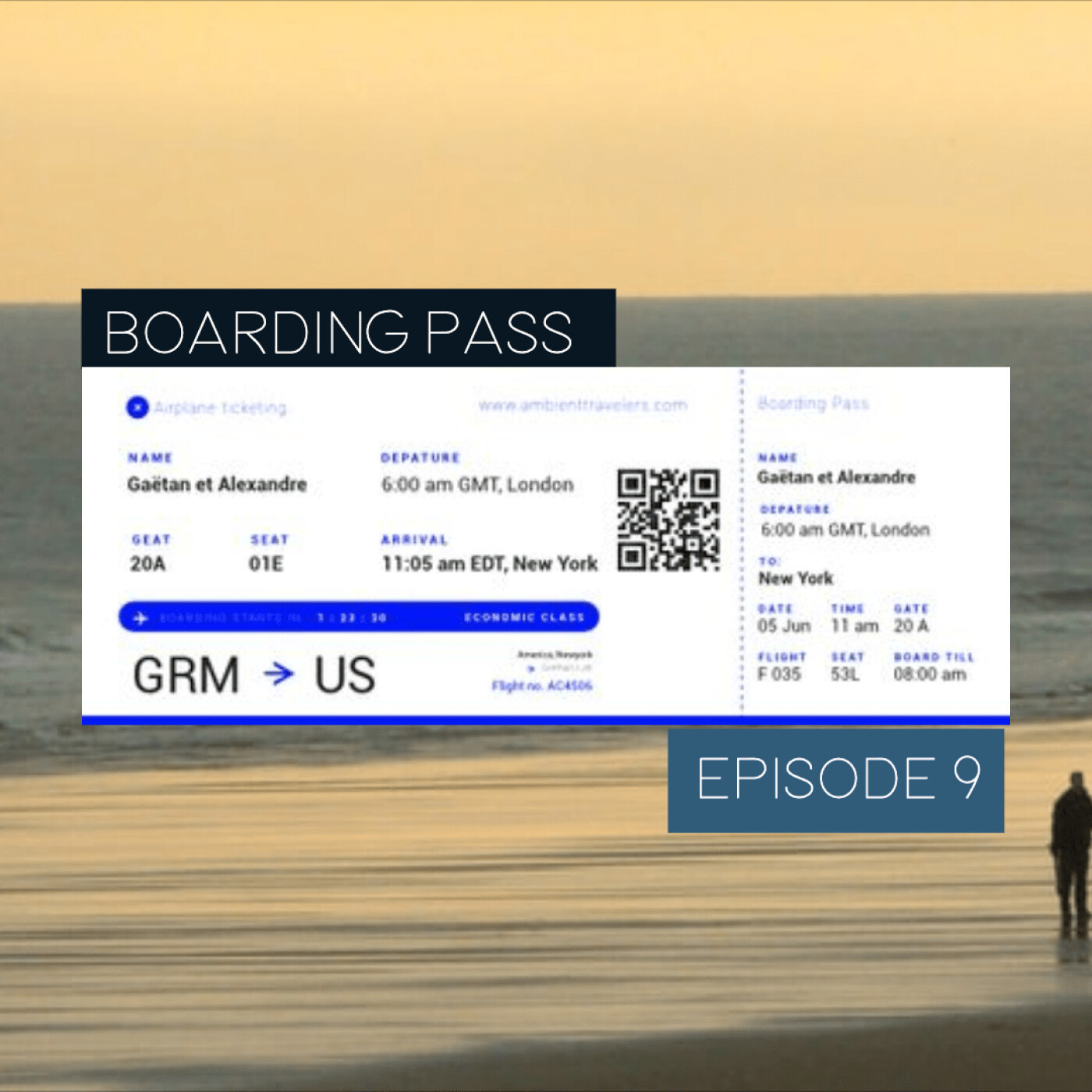 Boarding Pass 009 ✈️ Benoit Pioulard et Kieldfal