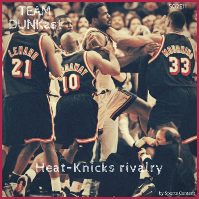 The Heat-Knicks rivalry cover