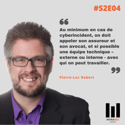 S2E04 - Pierre Luc Robert - Conférence Forensik 2020 cover