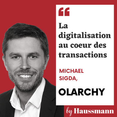 #5 Michael Sidga, Olarchy - La digitalisation au coeur des transactions cover