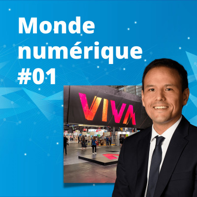 """#01 : Vivatech, le retour des salons tech """"en vrai"""" - Cédric O sur le numérique en France cover"""