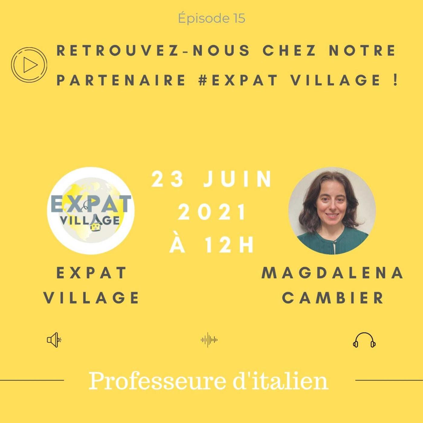 Magdalena et sa passion pour l'Italien - 23 06 2021 - StereoChic Radio