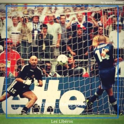 France vs Italie (1/4 finale Coupe du Monde 1998) cover