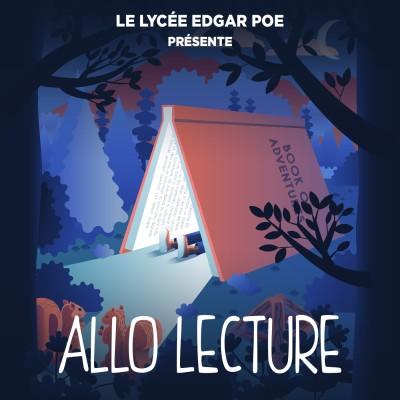 """Toutes les classes du lycée Edgar Poe - Lecture de """"Zazie dans le métro"""" par Judith LURCEL, Elisabeth VIAIN - ALLO ON T'ECOUTE - 10.04 cover"""