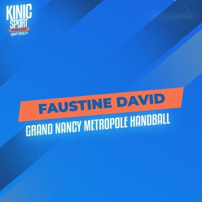 #2 - Faustine David : Grand Nancy Métropole Handball cover