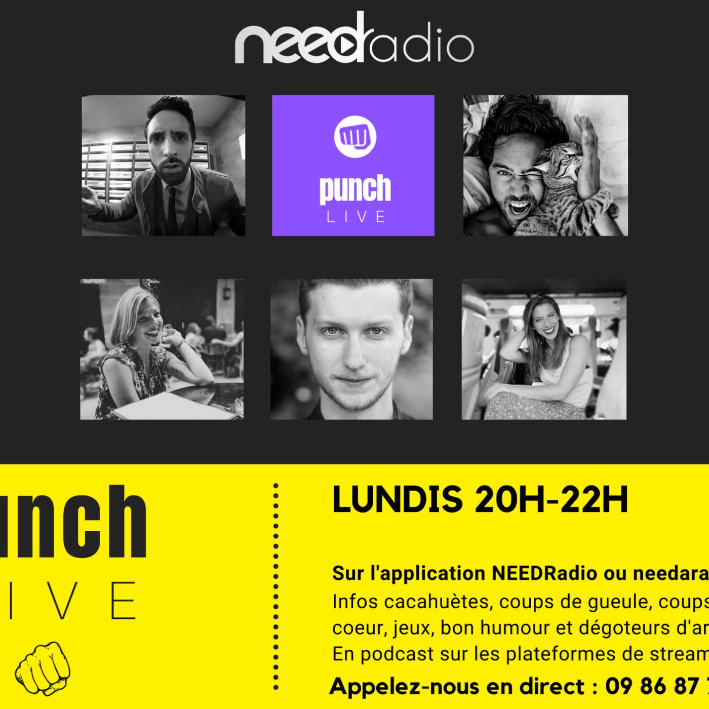 Punch Live sur NEED Radio (27/01/20)