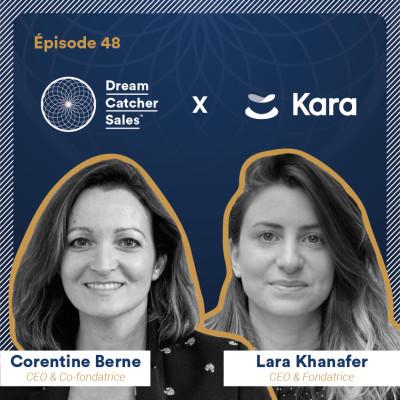 #48 Kara.ai : Cycle long - atteindre 200% de ses objectifs grâce au time management avec Lara Khanafer cover