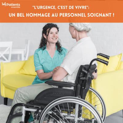"""Podcast 118 - """"L'urgence, c'est de vivre"""": un bel hommage au personnel soignant ! cover"""