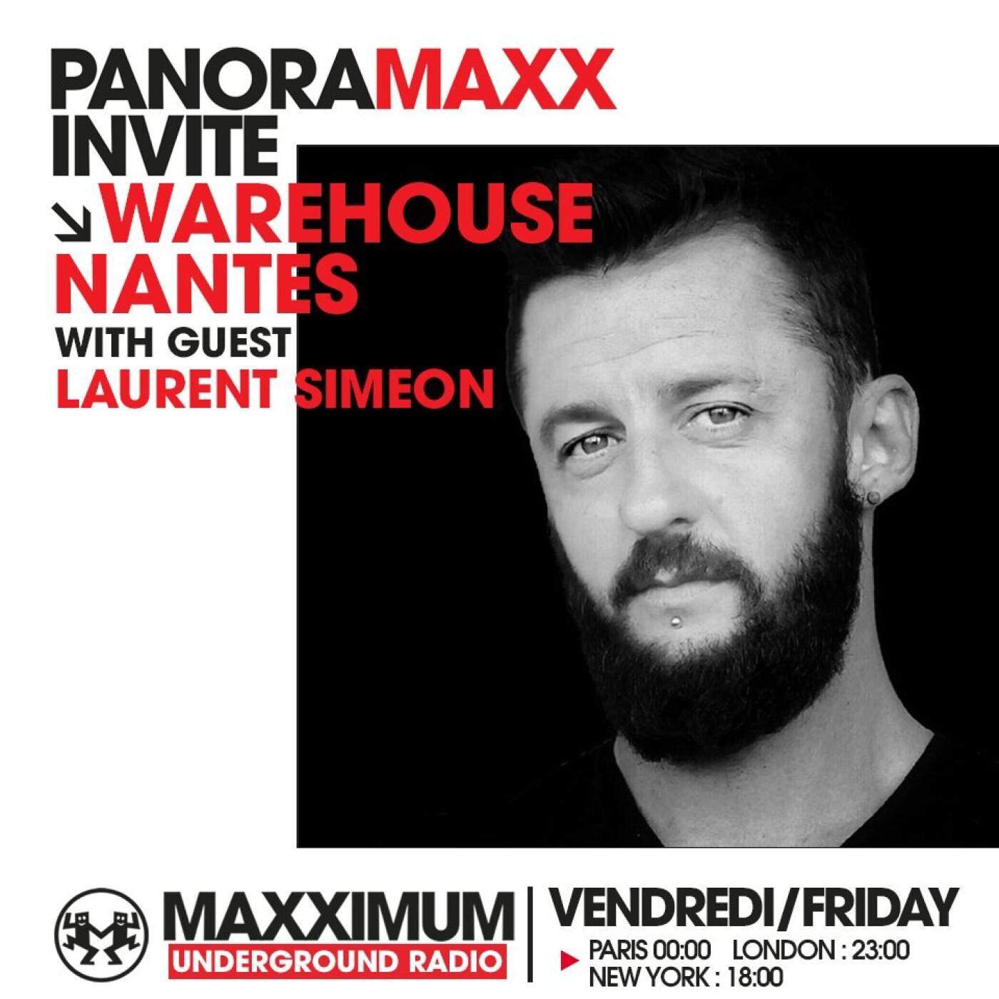 PANORAMAXX : LAURENT SIMEON DU WAREHOUSE DE NANTES