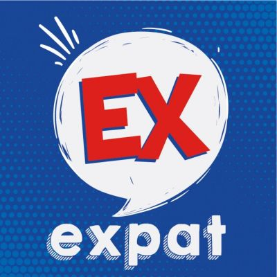 Ex Expat Le Podcast cover