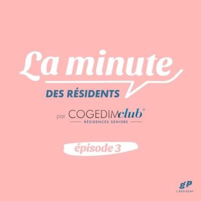 La Minute des Résidents #3 - Gilberte cover