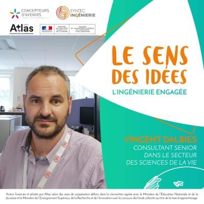 SANTÉ - Vincent Dalbies, consultant senior dans le secteur des sciences de la vie cover