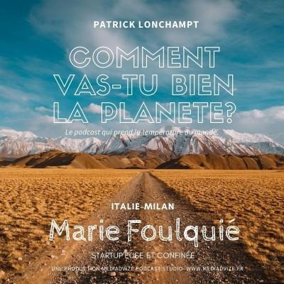 EP 3 ITALIE MILAN / Marie Foulquié Star'upeuse et Confinée cover