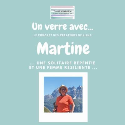 Martine Une solitaire repentie et une femme résiliente cover
