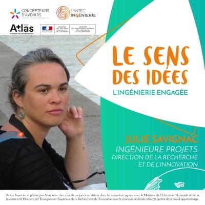 DÉPOLLUTION DE L'EAU - Julie Savignac, ingénieure projet cover