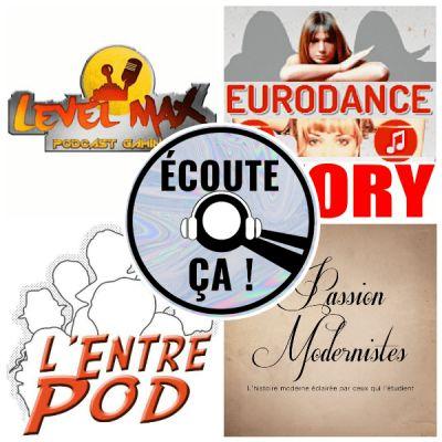image Ep 57 : Zikdepod S02E04 (Eurodance Story, Level Max, Passion Modernistes, L'Entrepod)