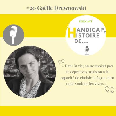 #20 Gaëlle Drenowski, juriste, coach en santé et patiente experte cover