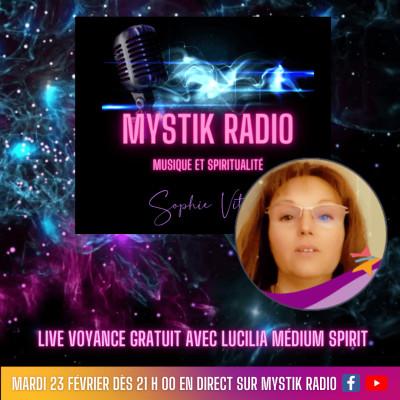 Live voyance gratuite avec Lucilia médium spirit chez Infinità Corse Voyance 23.02.2021 cover