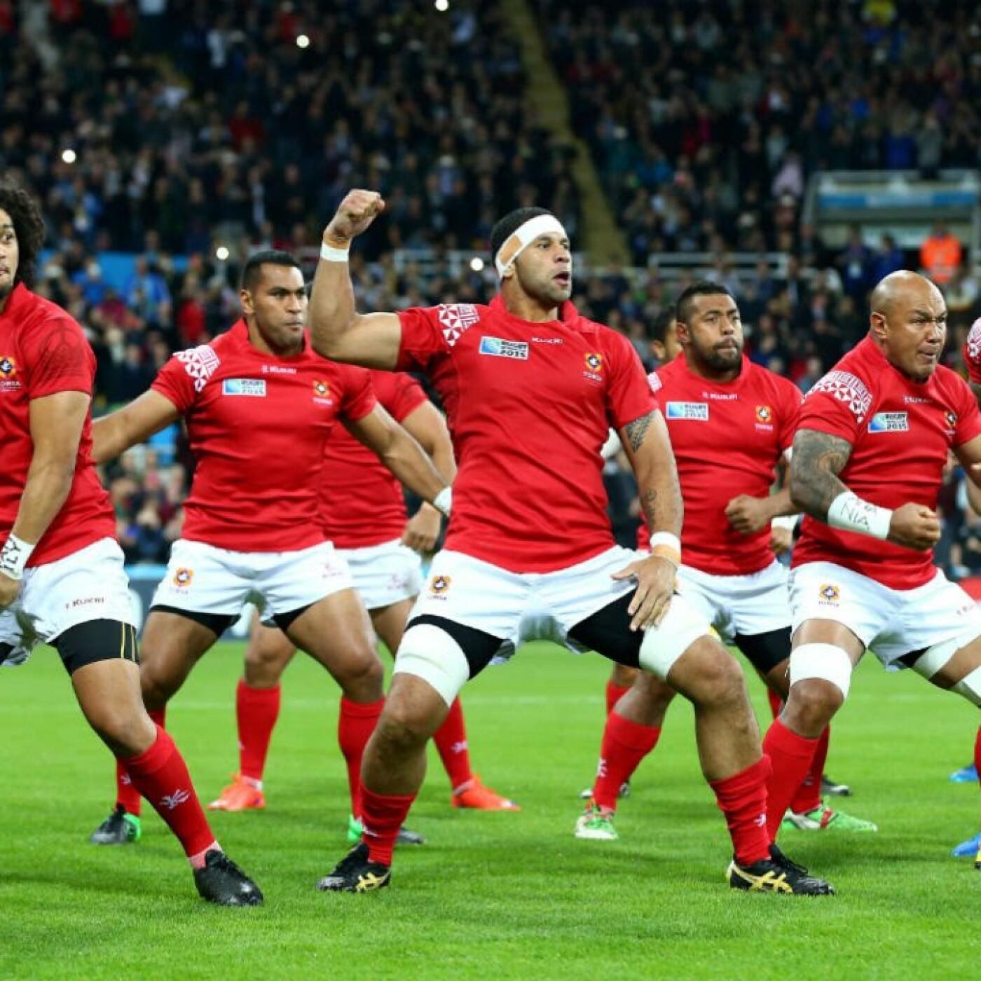 L'équipe de rugby des Tonga s'entraine dans les PO