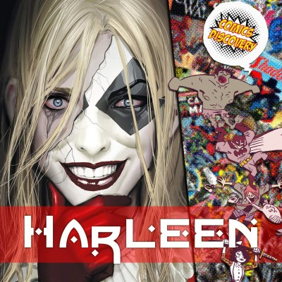 ComicsDiscovery S04E43 : Harleen cover