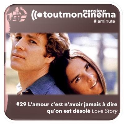 #29 L'amour c'est n'avoir jamais à dire qu'on est désolé (Love Story) cover