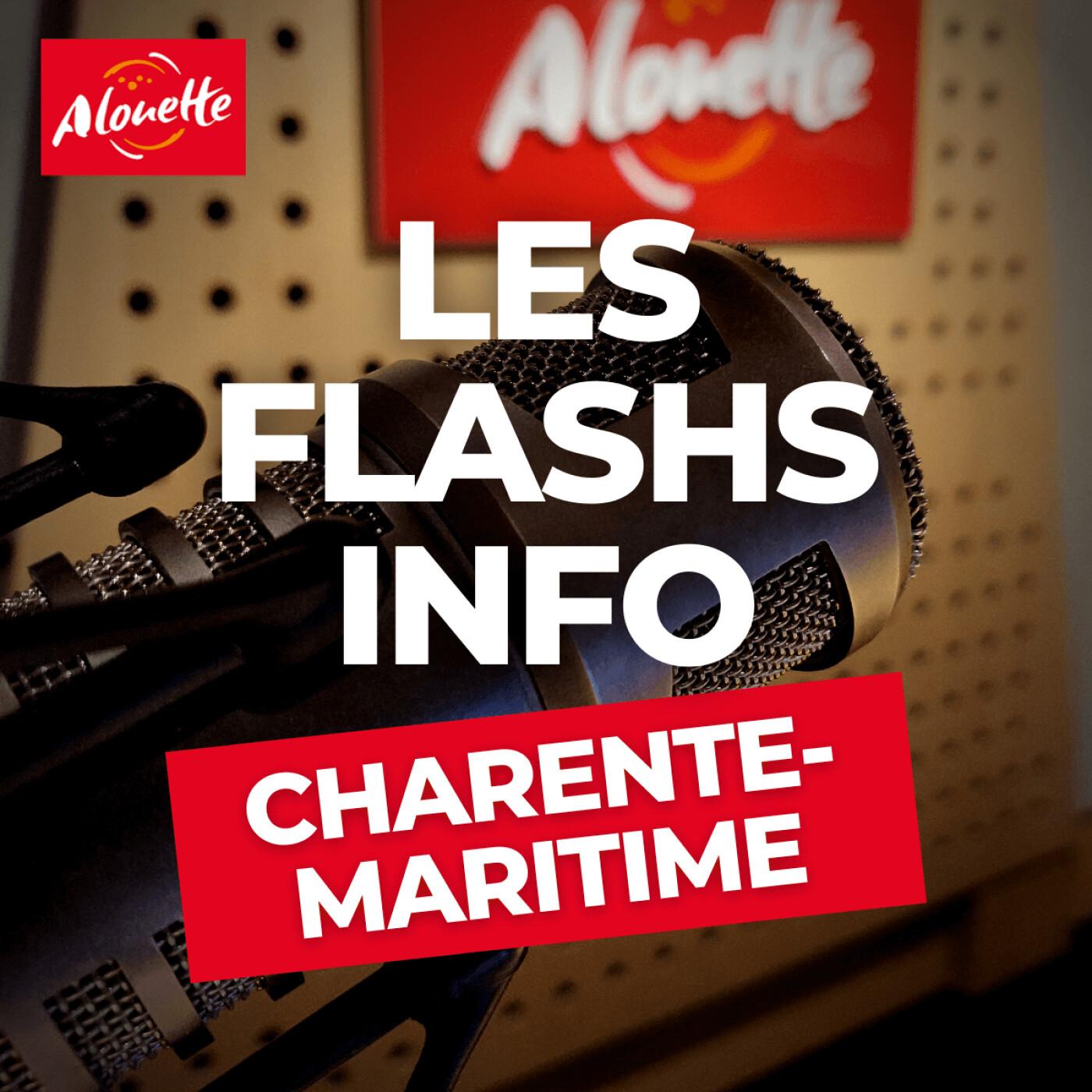 Alouette - Les Infos du 30 Septembre 08h00 en Charente-Maritime.