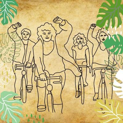 REcyclotour, étape 2: Le cyclisme au féminin cover