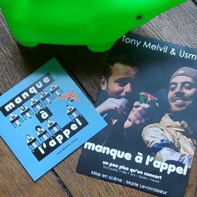 image 20 mars 19 : Tony Melvil et Usmar au théâtre Dunois