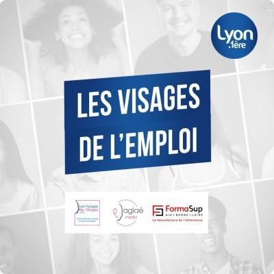 LES VISAGES DE L'EMPLOI avec LYON 1ERE cover