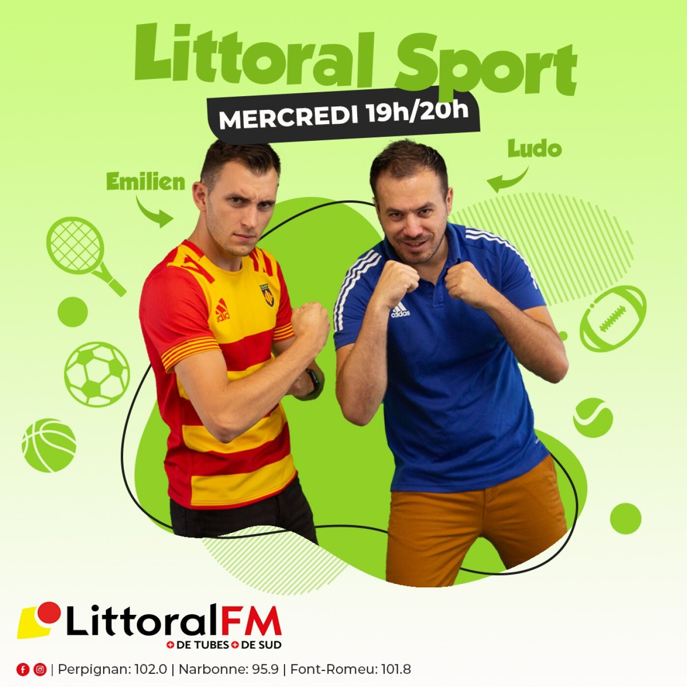L'intégrale de Littoral Sport du mercredi 08 septembre 2021