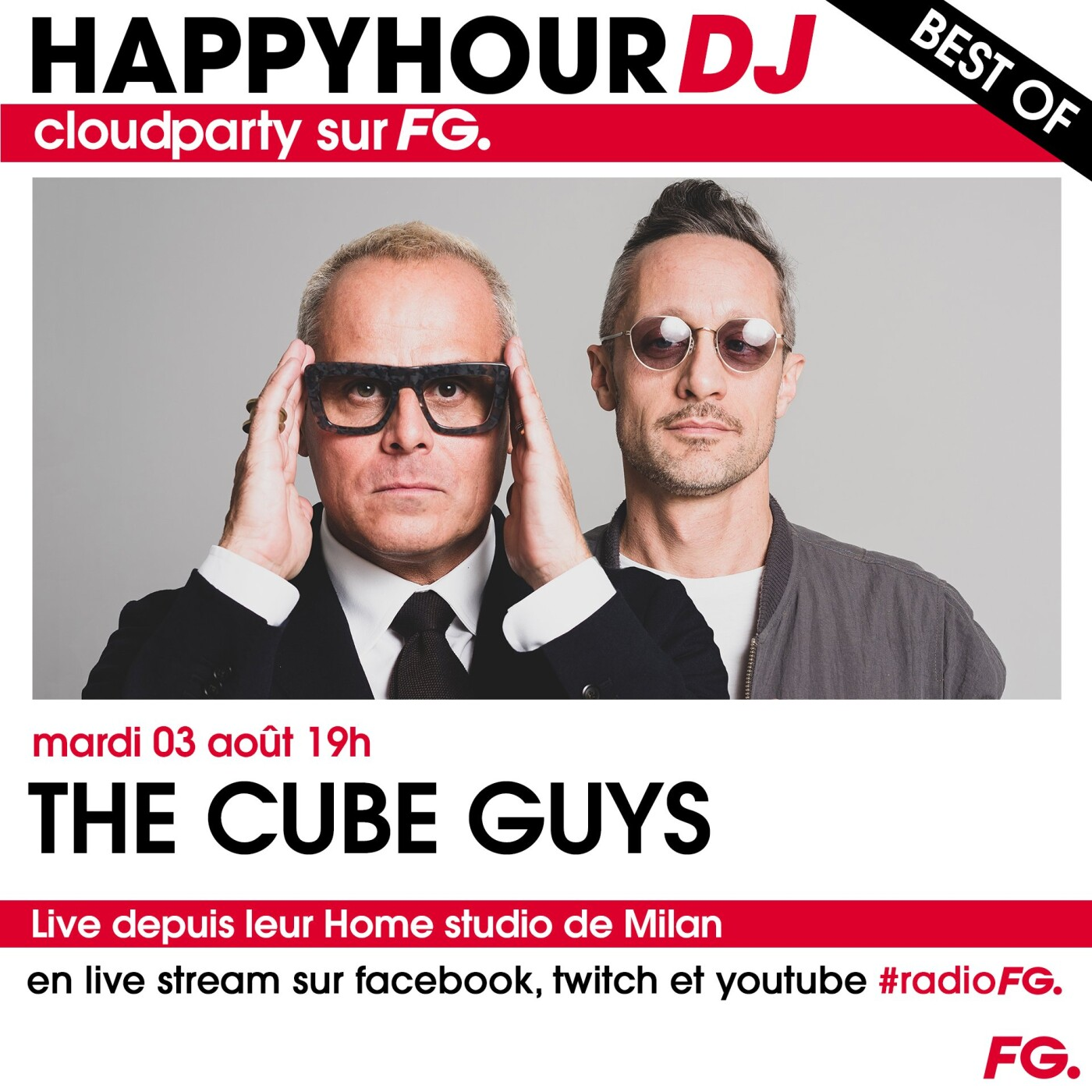 HAPPY HOUR DJ BEST OF : THE CUBE GUYS