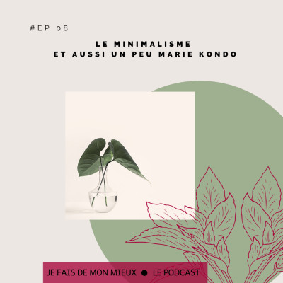 Le minimalisme et aussi un peu Marie Kondo cover
