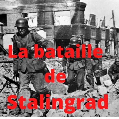 La bataille de Stalingrad cover