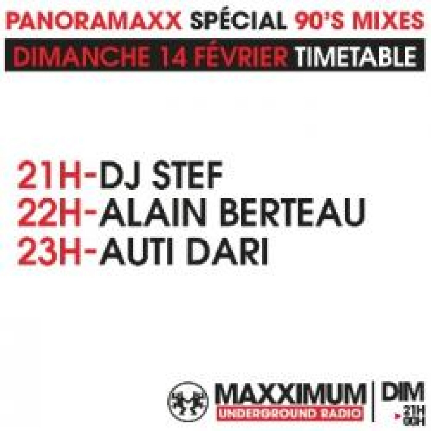 PANORAMAXX 90'S : ALAIN BERTEAU