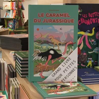 Grands livres pour petites personnes #5 – Le caramel du Jurassique cover