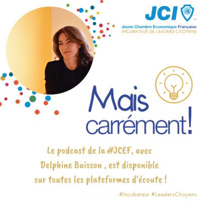 #07. Delphine Buisson - Conférencière Runneuse et Entrepreneur cover