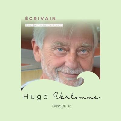 Hugo Verlomme, écrivain : la piste de l'eau cover