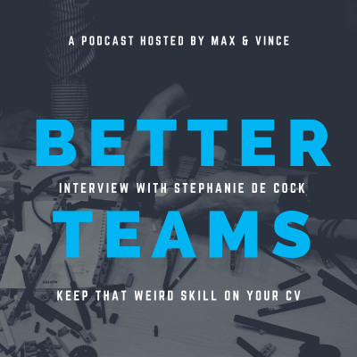 Keep That Weird Skill On Your CV - Interview With Stephanie De Cock cover