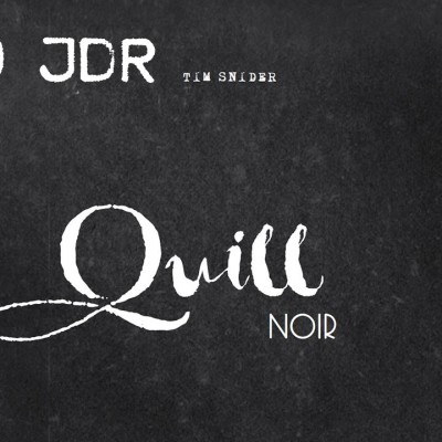 image #FR #JDR - Quill Noir 🕵️♂️ Découverte solo #2