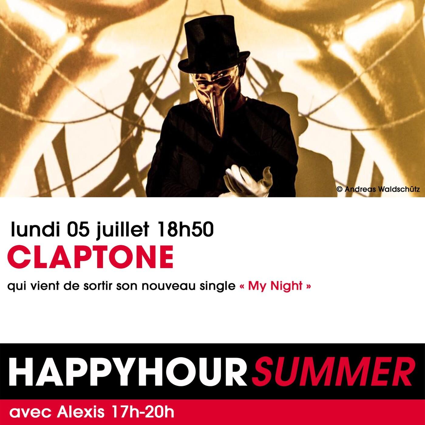 L'INTERVIEW DE CLAPTONE DANS L'HAPPY HOUR FG