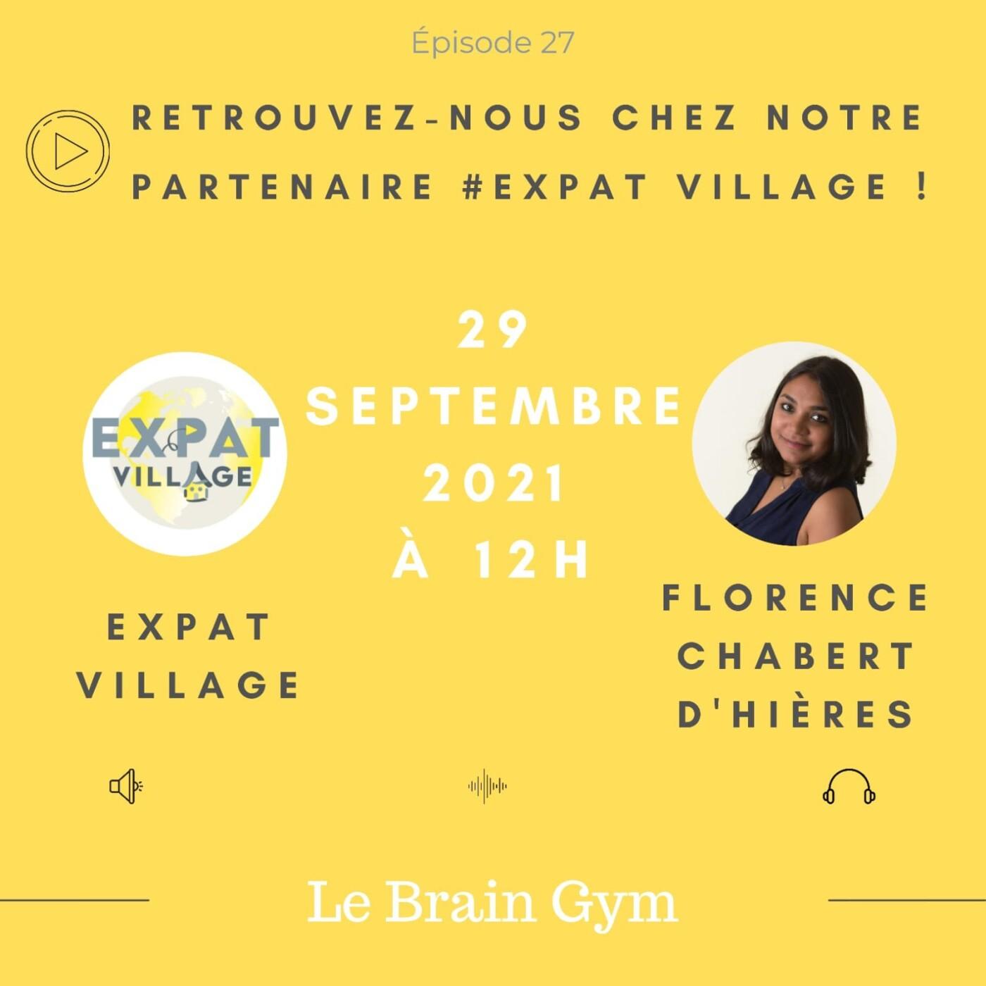 Florence présente le Brain Gym, comment bien utiliser son cerveau - 29 09 2021 - StereoChic Radio